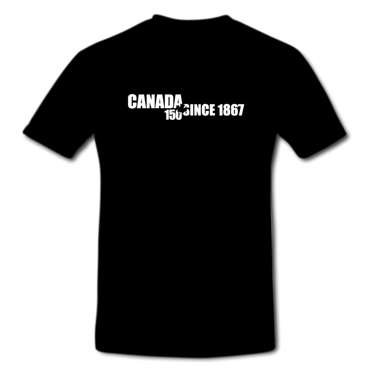 Canada's 150th Happy Birthday Since 1867 Maple Leaf T Shirt