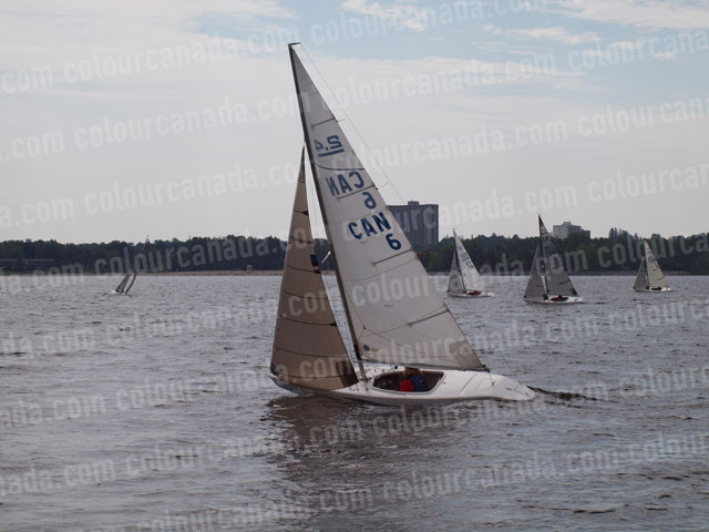 2.4 m Sailboat Racing (1) Cheap Stock Photo
