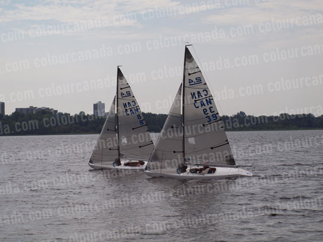 2.4m Sailboats Racing (2) | Cheap Stock Photo