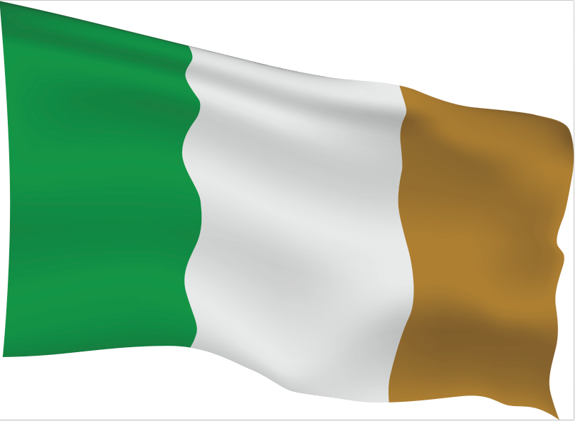Ireland Flag Scalable | Cheap Vector Art