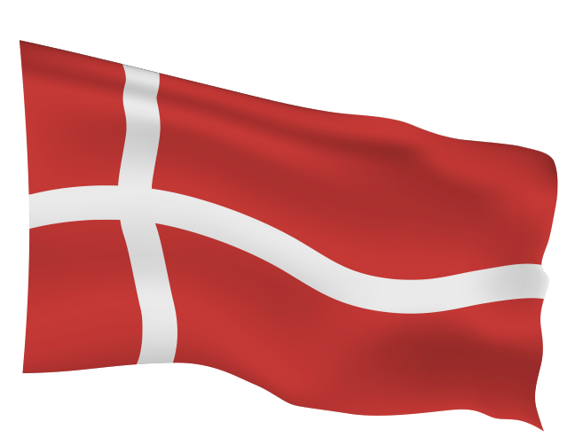 Denmark Flag Scalable | Cheap Vector Art - Click Image to Close