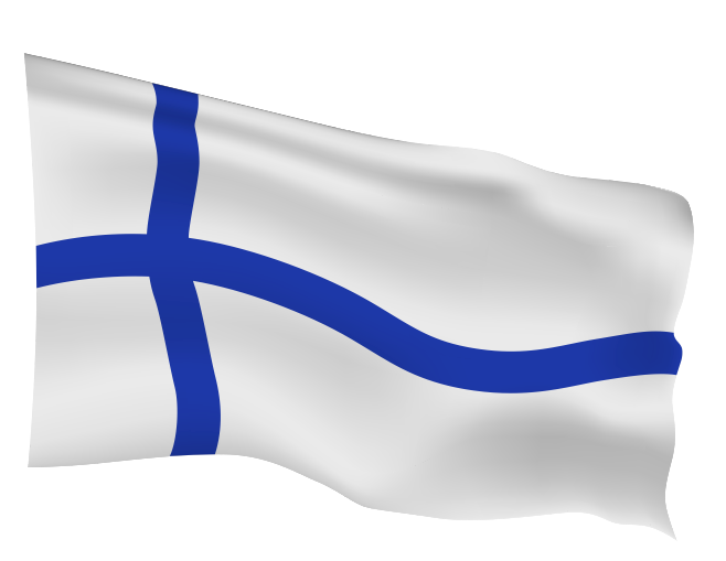 Finland Flag Scalable | Cheap Vector Art
