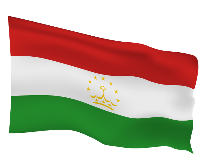 Tajikistan Flag Scalable | Cheap Vector Art