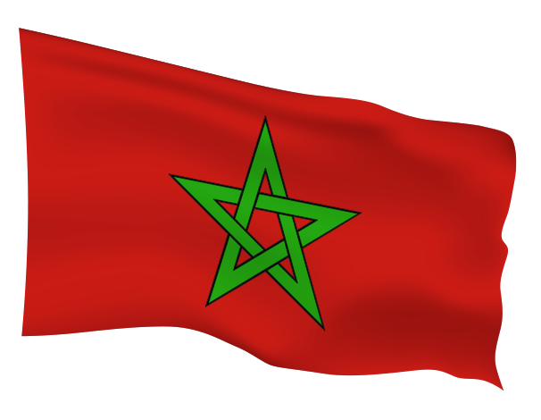 Morocco Flag Scalable | Cheap Vector Art