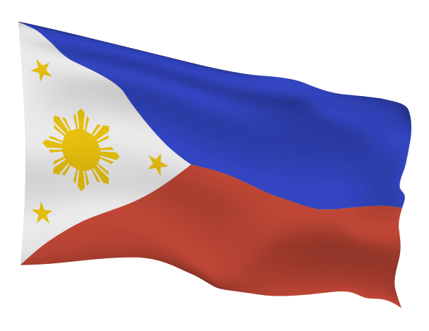 Philippines Flag Scalable | Cheap Vector Art