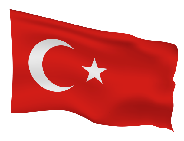 Turkey Flag Scalable | Cheap Vector Art