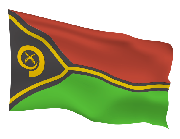 Vanuatu Flag Scalable | Cheap Vector Art