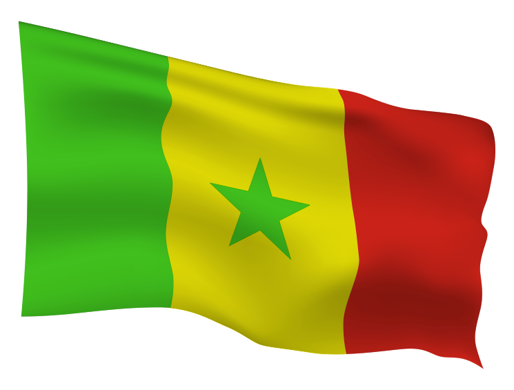 Senegal Flag Scalable | Cheap Vector Art
