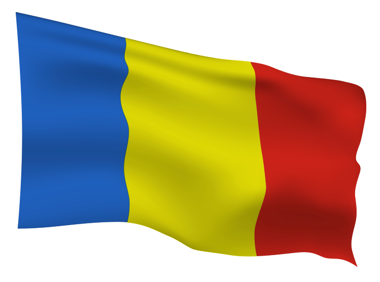 Romania Flag Scalable | Cheap Vector Art