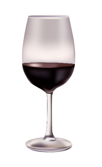 Red Wine Glass | Cheap Vector Art