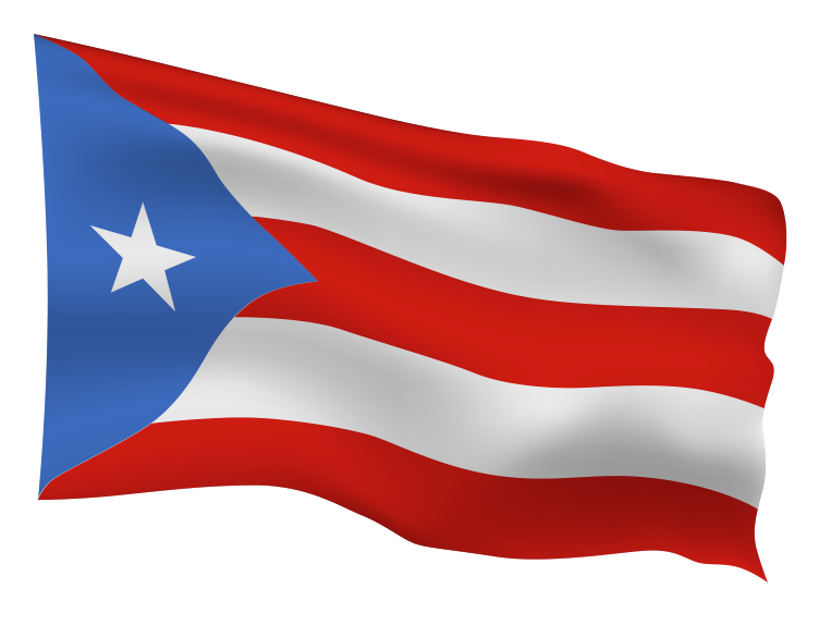 Puerto Rico Flag Scalable | Cheap Vector Art