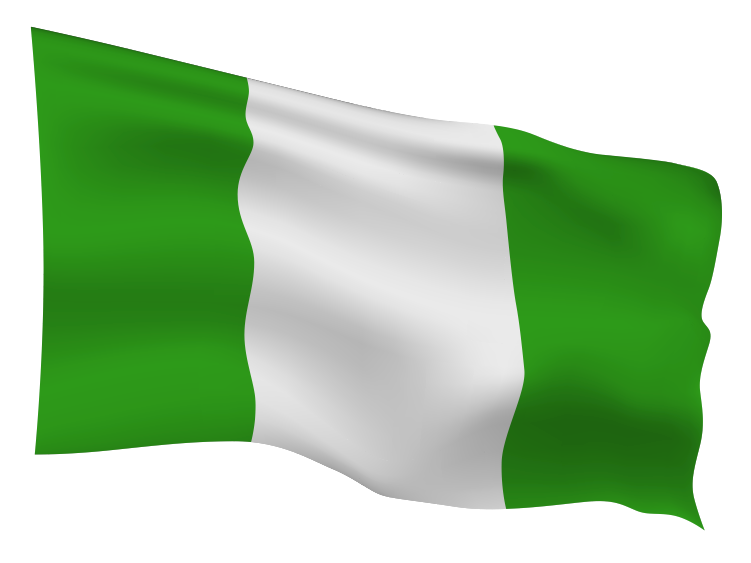 Nigeria Flag Scalable | Cheap Vector Art