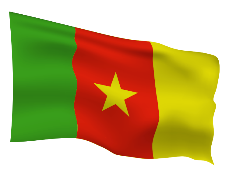 Cameroon Flag Scalable | Cheap Vector Art