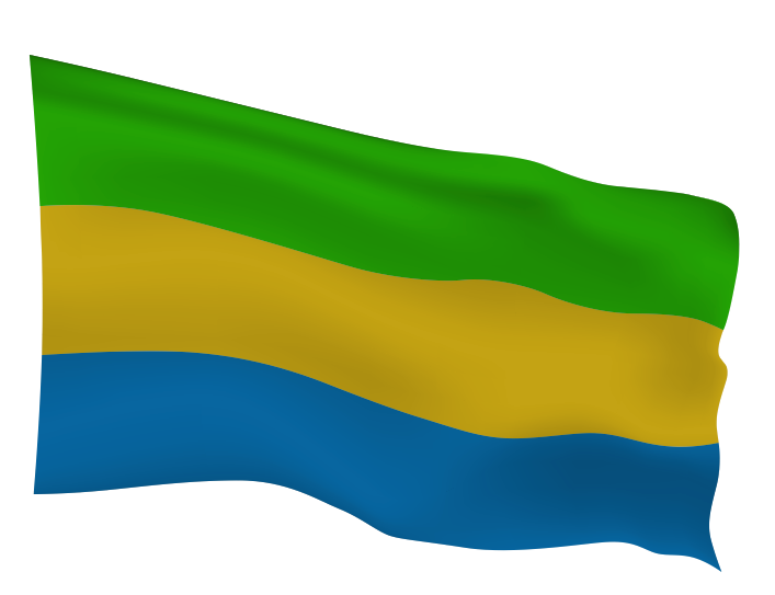 Gabon Flag Scalable | Cheap Vector Art