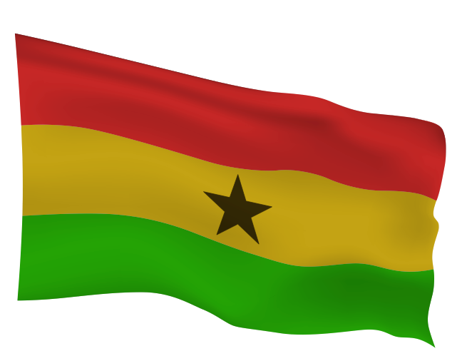 Ghana Flag Scalable | Cheap Vector Art