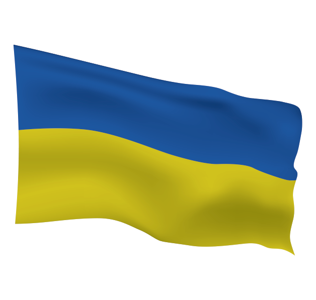 Ukrainian Flag Scalable | Cheap Vector Art