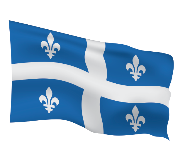 Quebec Flag Scalable | Cheap Vector Art