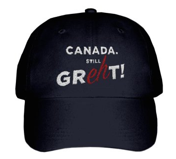 Canada. Still Great Baseball Cap in Black