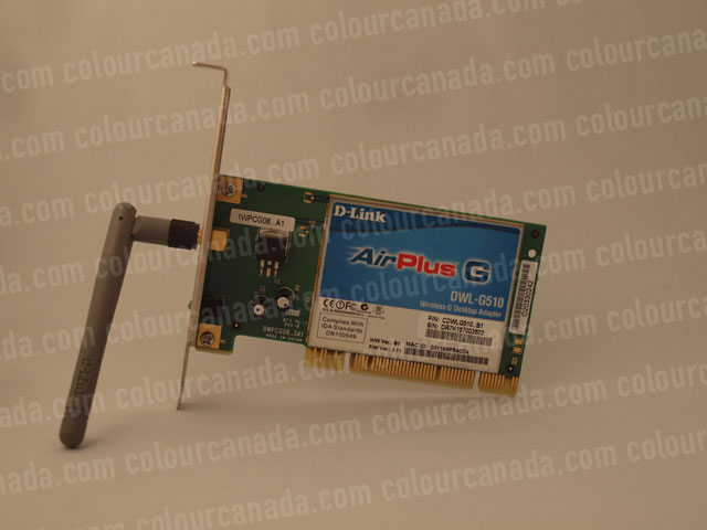 Air Port PCI Card with Antenna | Cheap Stock Photo