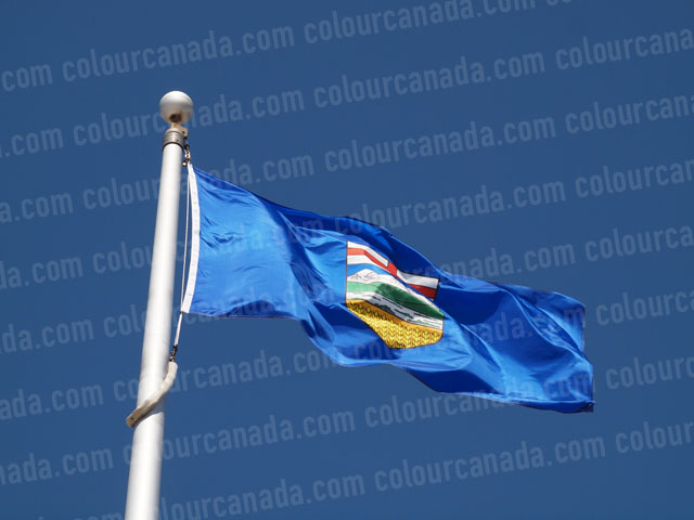 Alberta's Flag (1) | Cheap Stock Photo