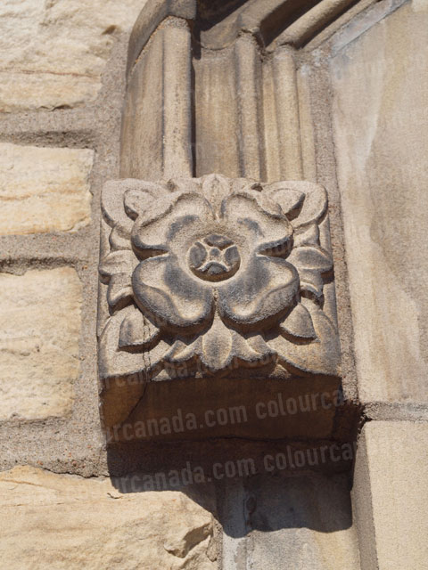 Architectural Detail Floral Stone Carving | Cheap Stock Photo