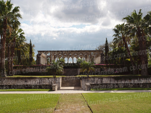 Bahamas (2) Stone Columns Ruins | Cheap Stock Photo