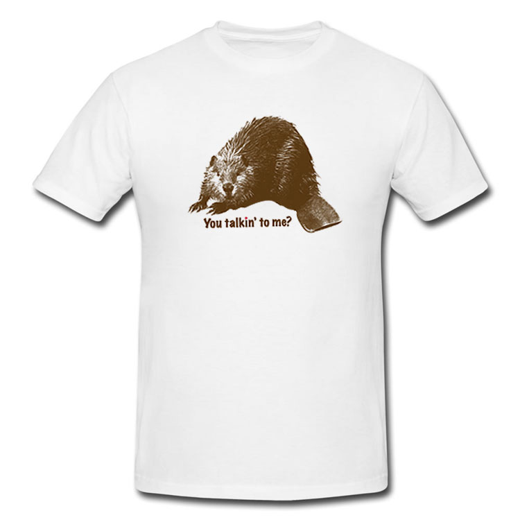 You Talkin' To Me? Beaver T Shirt