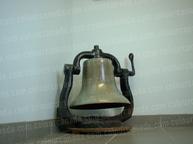 Bell Antique Brass with Black Stand | Cheap Stock Photo