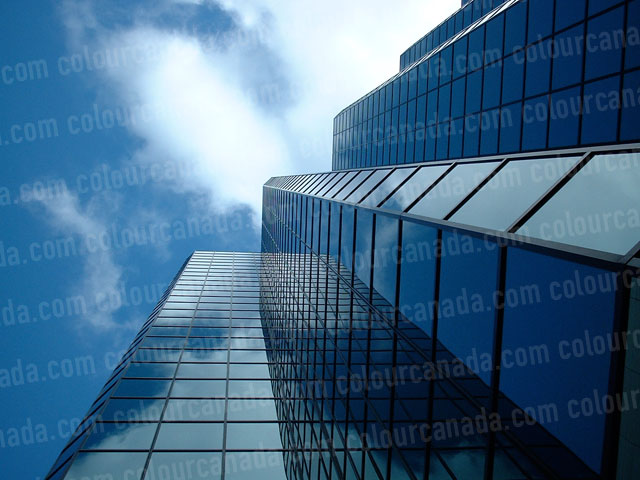 Black Glass Building | Cheap Stock Photo