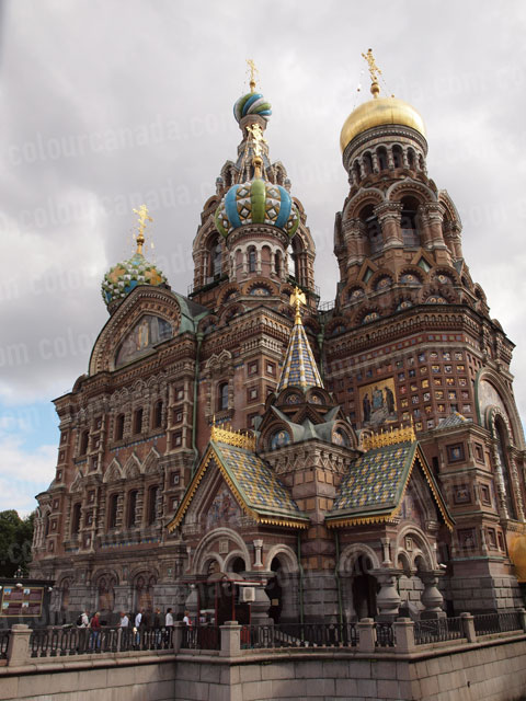 Church on Spilt Blood St. Petersburg, Russia | Cheap Stock Photo