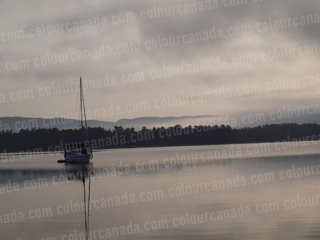 Sailboats at Anchor (2) | Cheap Stock Photo