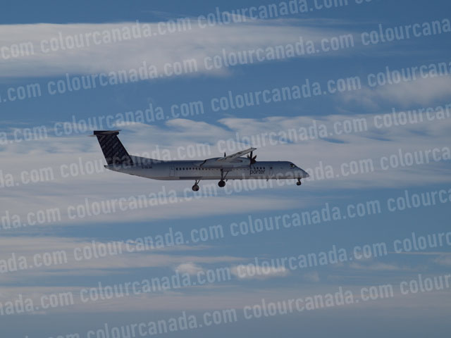 Bombardier Q400 Turbo Prop | Cheap Stock Photo