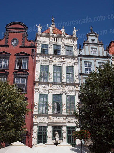 Building Facade Gdansk (1) | Cheap Stock Photo