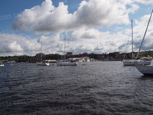 Burlington Vermont from the Water | Cheap Stock Photo