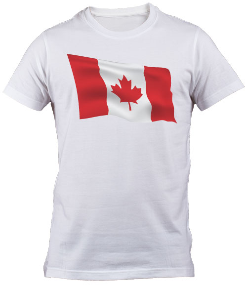 Canadian Flag T Shirt