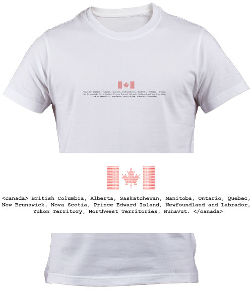 Canadian Geek T Shirt