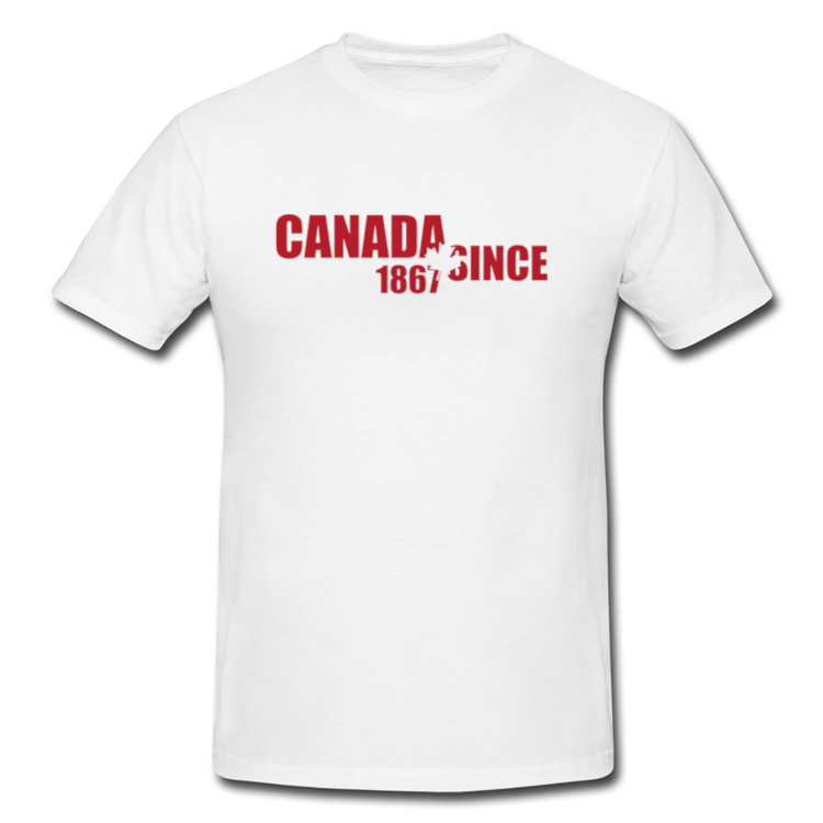 Canada Since 1867 Maple Leaf T Shirt