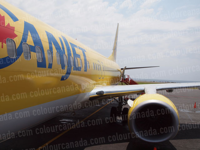 CanJet Boeing 737 Long View | Cheap Stock Photo