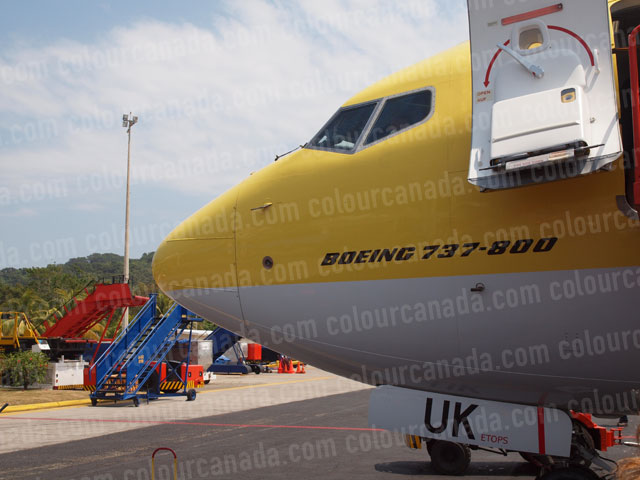 CanJet Boeing 737 Nose | Cheap Stock Photo