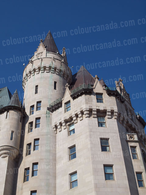 Chateau Laurier Towers Ottawa | Cheap Stock Photo