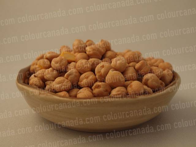 Chick Peas in a Bowl | Cheap Stock Photo