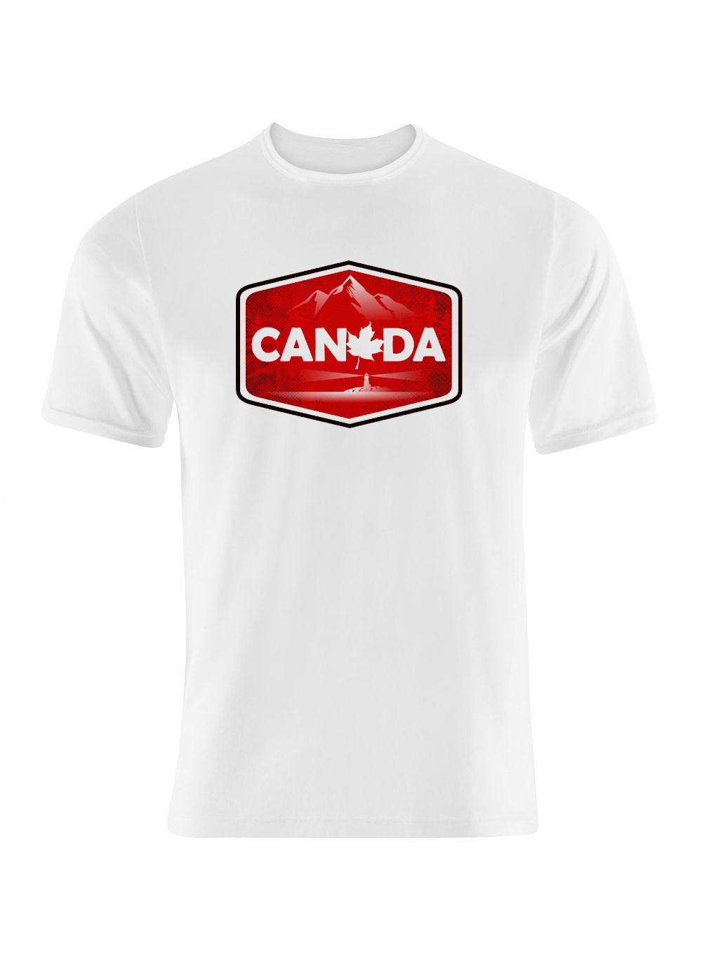 Canada Coast to Coast Graphic T Shirt