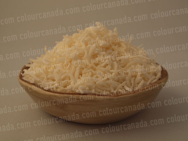 Coconut Shredded in a Bowl | Cheap Stock Photo