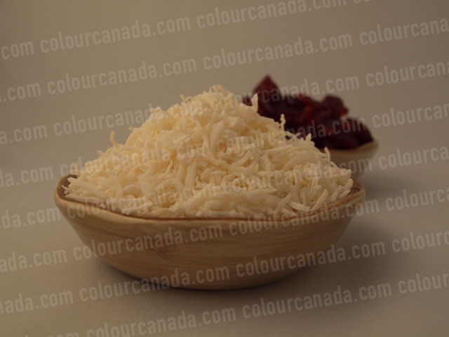 Coconut & Cranberries in Bowls | Cheap Stock Photo