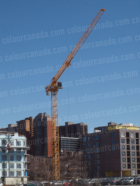 Construction Crane (1) | Cheap Stock Photo