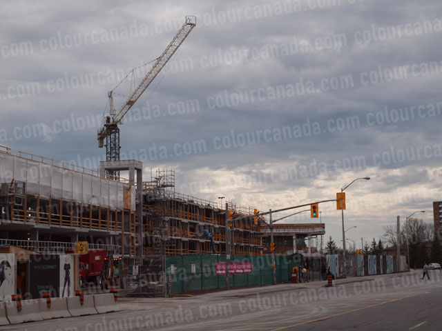 Construction Site With Crane (4) | Full Res Cheap Stock Photo