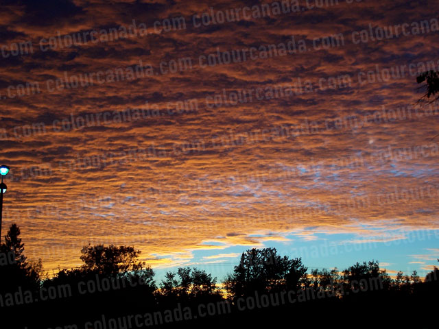 Cotton Cloud Sunset | Cheap Stock Photo