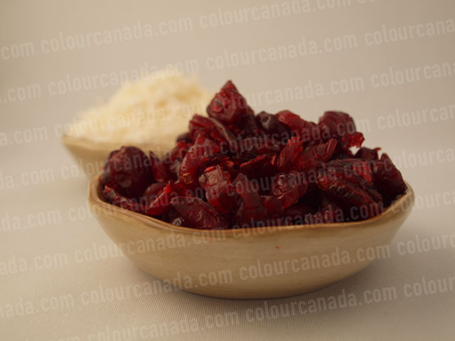Cranberries and Coconut in Bowls | Cheap Stock Photo