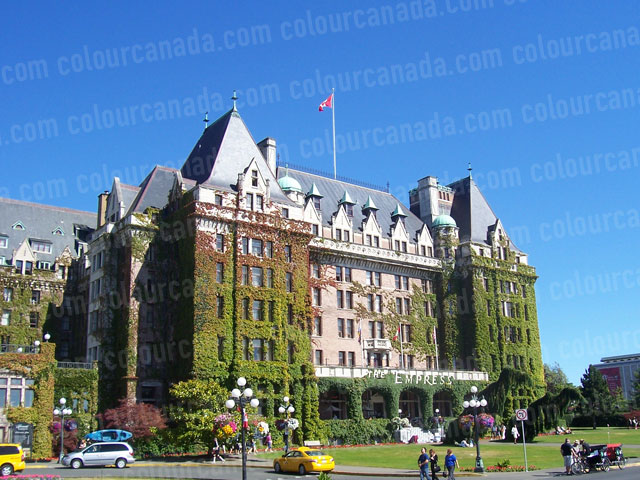 Empress Hotel, Victoria, British Columbia | Cheap Stock Photo