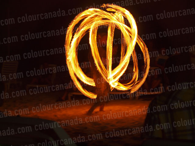 Fire Dancer (1) | Cheap Stock Photo